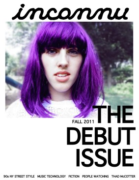 DEBUT COVER FALL 2011