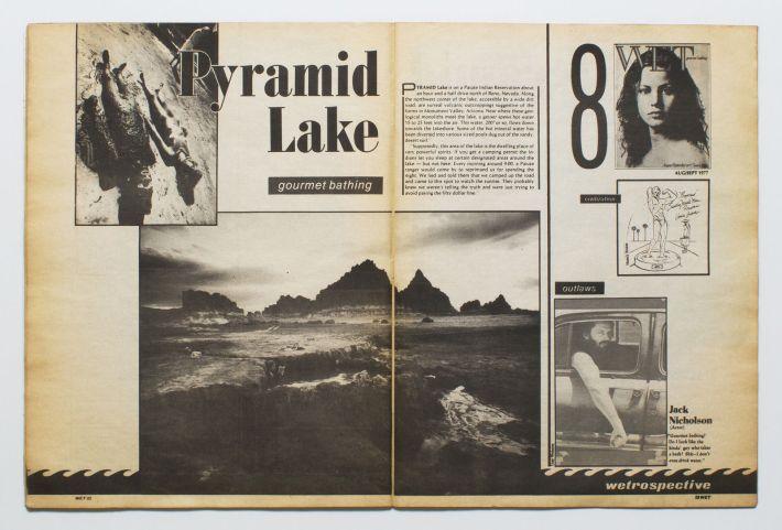 wet pyramid lake