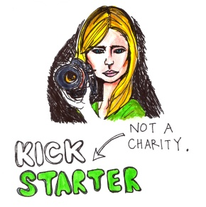 Kickstarter is Not a Charity