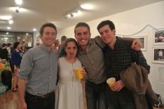 David, Taylor, Adam and Will