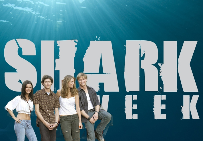 shark week + the oc
